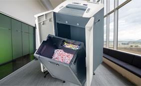 盆景商务碎纸机支持多种可碎介质,容量大